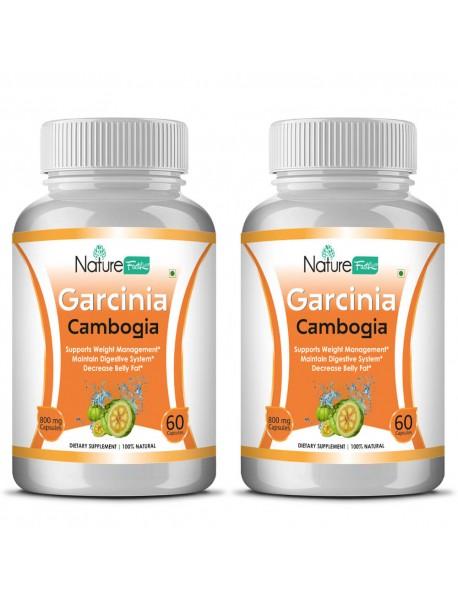 Naturefacts Garcinia Combogia  - 2 Bottle pack