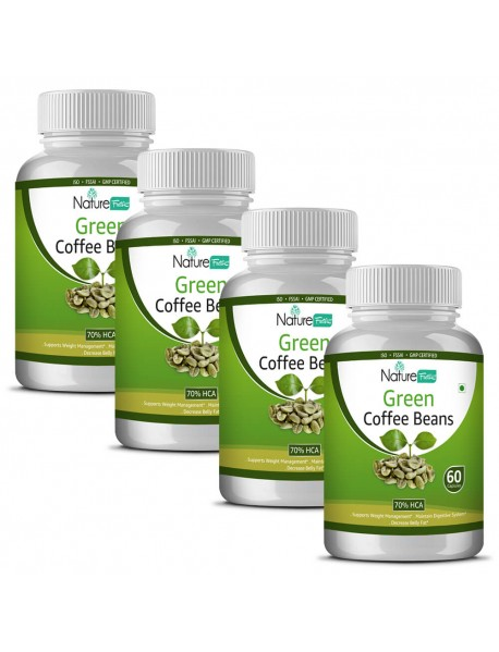Naturefacts Green Coffee - 4 Bottles