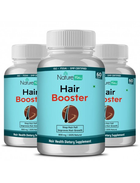 Naturefacts HAIR Booster -3 BOTTLE