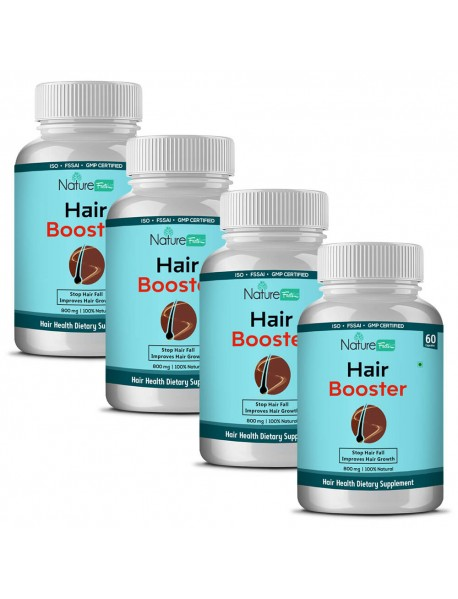 Naturefacts HAIR Booster -4 BOTTLE