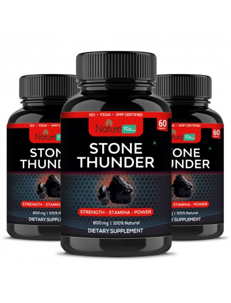 Naturefacts Stone thunder 3 bottle pack